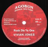 Vivian Jones - Rock Dis Ya One / Wickedness (Agobun Riddim Section) 12""